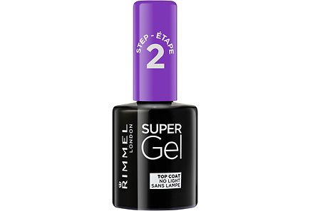 Rimmel - Rimmel 12ml Super Gel Top Coat kynsilakka
