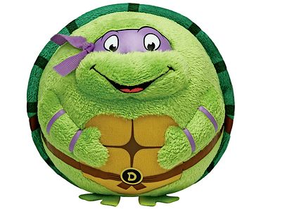 Ty - Tactic Turtles Donatello pehmolelu