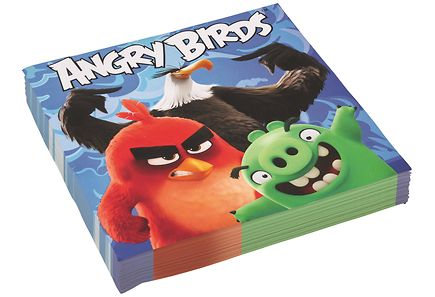 Angry Birds - Angry Birds Movie 20kpl lautasliina 33cm