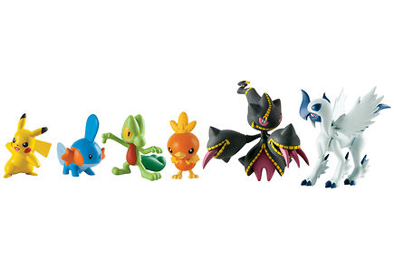 Tomy - Pokemon Action Hahmot I Laj.