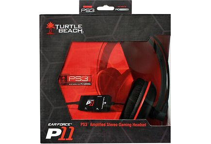 Elokuvat - Turtle Beach P11 headset for PS3