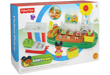 Fisher Price - Fisher-Price – Little People Farm & Garden Stand
