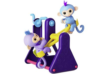 Fingerlings - Fingerlings lelusetti keinulauta ja 2 apinaa