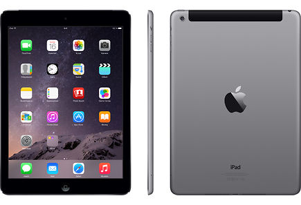 Apple - Apple iPad Air 2 Wi-Fi Cell 16GB Space Gray