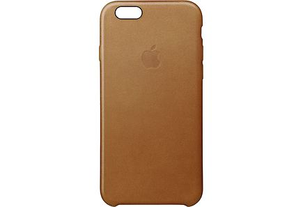 Apple - Apple iPhone 6s Plus Leather Case Saddle Brown kuoret