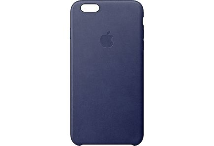 Apple - Apple iPhone 6s Leather Case Midnight Blue kuoret