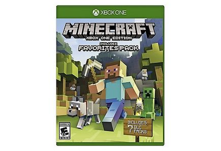 Microsoft - XBOX ONE Minecraft Favorite Pack