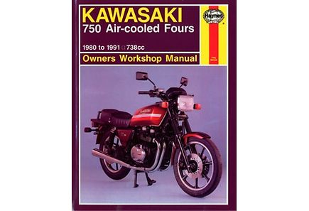 Kirjat - Kawasaki GPZ 750 air-cooled fours 1980-91