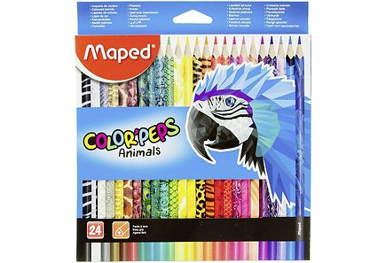 Maped - Maped Animals puuvärit 24kpl