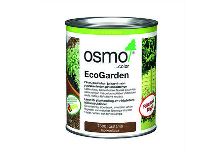 Osmo Color - Osmo Color Ecogarden suojaöljy 750ml kastanja