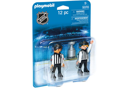 Playmobil - Playmobil NHL™ Referees with Stanley Cup™ erotuomarit