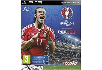 Playstation - PS3 PES 2016 UEFA Euro 2016 peli