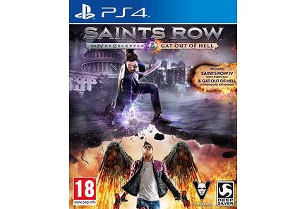 Deepsilver - PS4 Saints Row IV - Re-Elected + Gat Out Of Hell