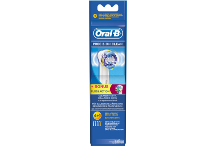 Oral-B - ORAL-B PRECISION CLEAN 4+1 Floss Action -vaihtoharjat