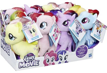 My Little Pony - My Little Pony Small Hair Plush Ast