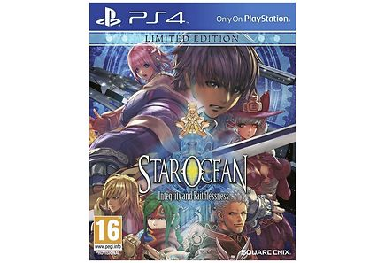 Squareenix - PS4 Star Ocean: Integrity and Faithlessness L.E.
