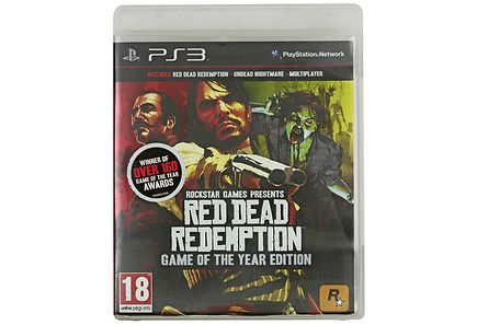 Playstation - Ps3 Red Dead Redemption Goty Edition