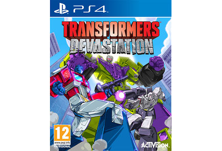 Activision - Blizzard - PS4 Transformers Devastation