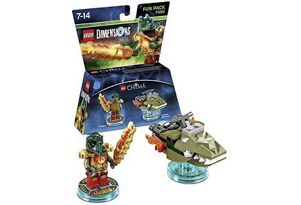 WB Games - Lego Dimensions Fun Pack: Cragger
