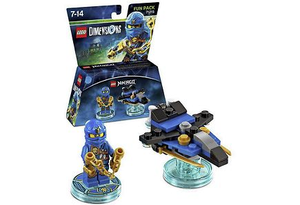 WB Games - Lego Dimensions Fun Pack: Jay