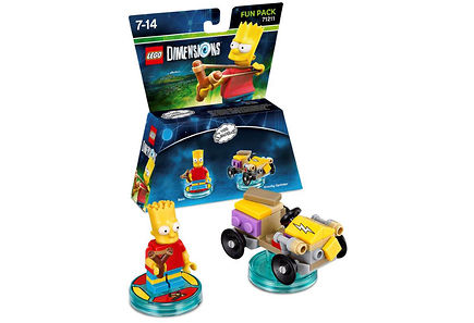 WB Games - Lego Dimensions Fun Pack: Bart