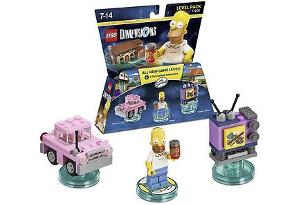 WB Games - Lego Dimensions Level Pack: The Simpsons