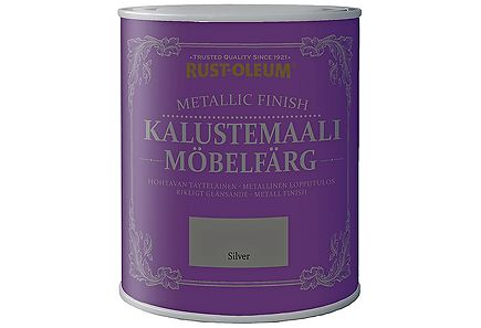 Rust-Oleum - Rust-Oleum Metallic Finish Kalustemaali 750ml Silver