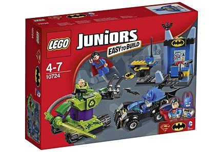 LEGO - LEGO Juniors 10724 Batman™ ja Superman™ vastaan Lex Luthor™