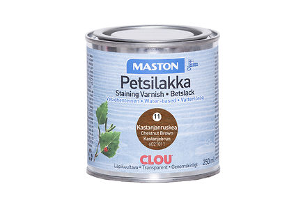 Woodmix - Maston petsilakka 250ml kastanjanruskea, 11