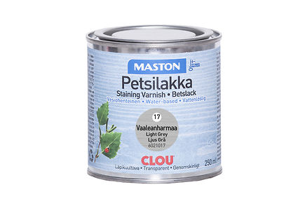 Woodmix - Maston petsilakka 250ml vaaleanharmaa, 17