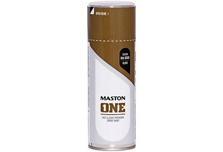 Maston - Maston spraymaali 400ml ruskea RAL 8008