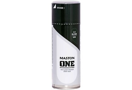 Maston - Maston spraymaali 400ml musta RAL 9005