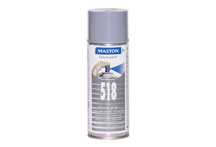 Maston - Maston spraypohjamaali 400ml harmaa 518