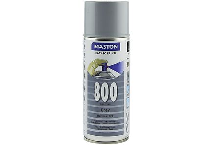 Maston - Maston spraymaali 400ml harmaa 800, RAL 7040