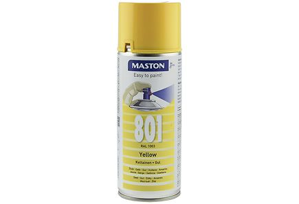 Maston - Maston spraymaali 400ml keltainen 801, RAL 1003