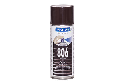 Maston - Maston spraymaali 400ml ruskea 806, RAL 8017