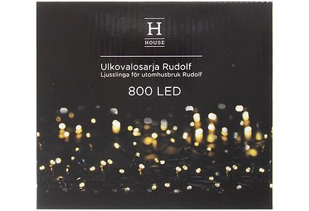 House - House ulkovalosarja Rudolf 800led IP44