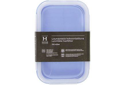 House - House kokoontaittuva lounasrasia 700ml