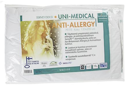 Uniblow By Univisio - Uni-Medical Anti-Allergy peite 150 x 200 cm