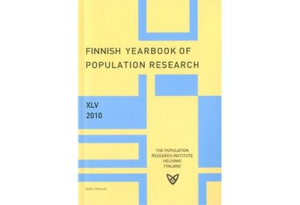 Kirjat - Finnish yearbook of population research XLV 2010