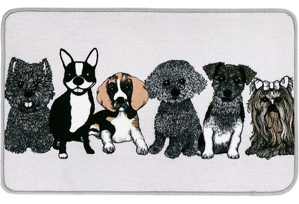 Vallila - Vallila matto Doggies 50x80cm beige