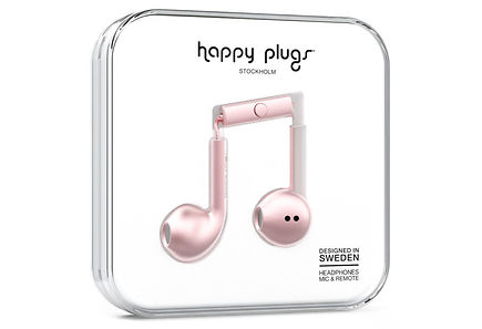 Happy Plugs - Happy Plugs Earbud Plus Pink gold