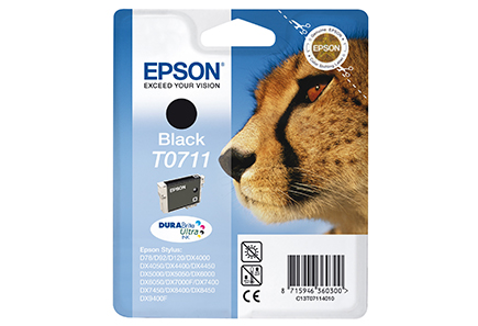 Epson - Epson T0711 Black Ink Cartridge