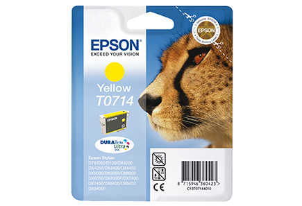 Epson - Epson T0714 Yellow Ink Cartridge