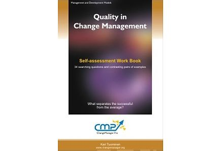 Kirjat - Quality in change management