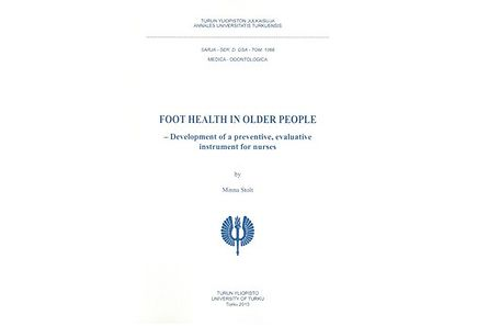 Kirjat - Foot health in older people