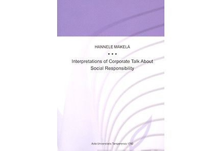 Kirjat - Interpretations of Corporate Talk About Social Responsibility