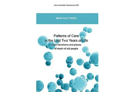 Kirjat - Patterns of care in the last two years of life