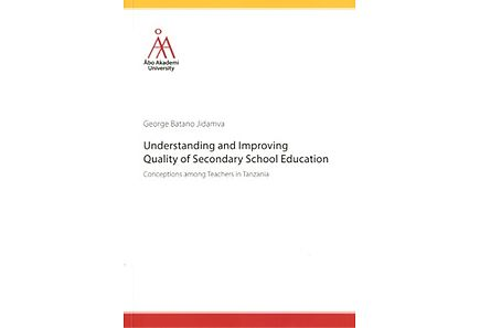 Kirjat - Understanding and Improving Quality of Secondary School Education