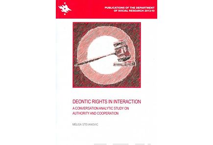 Kirjat - Deontic Rights in Interaction